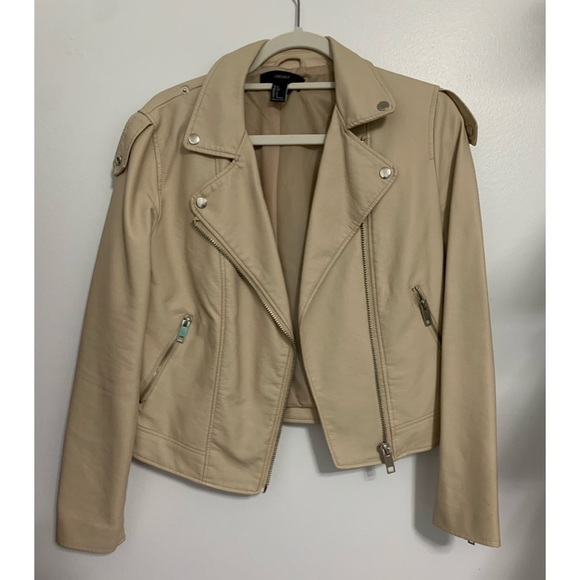 Forever21 Faux leather jacket